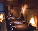 掘りごたつ式の宴会用個室が8室