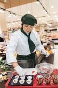 お客さまの購買意欲UP☆焼く、揚げるなどの簡単な調理も。