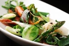 お野菜の料理がメインですが、