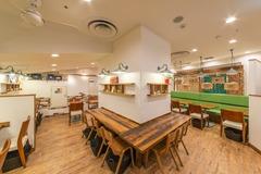 六本木ヒルズ内にある定食屋カフェ