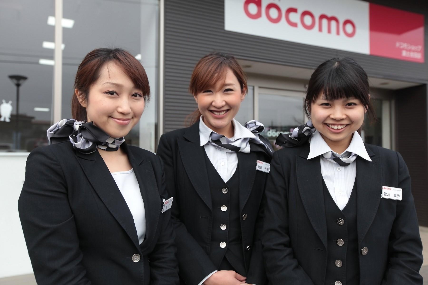 女性スタッフが活躍中!笑顔の接客を大切にしています
