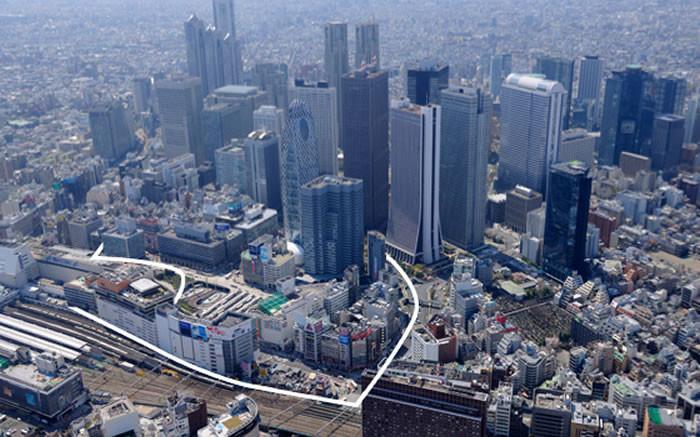 新宿から徒歩7分、丸の内線「西新宿」徒歩3分