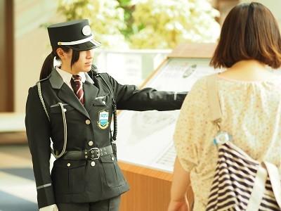 株式会社シムックス 小田原市エリア 交通誘導スタッフのイメージ