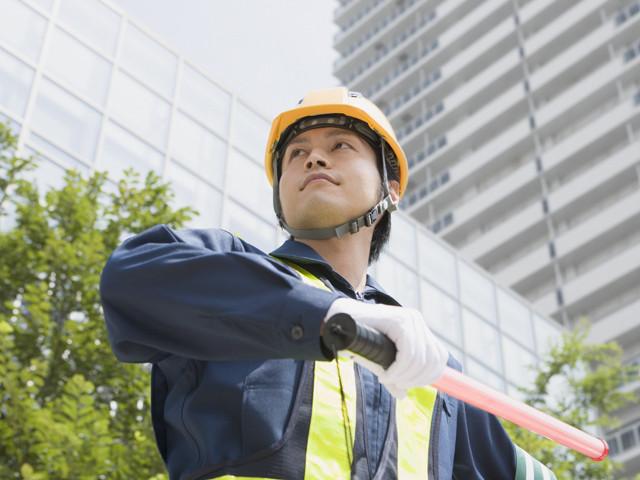 勤務先はイベント会場や道路工事現場などさまざま☆