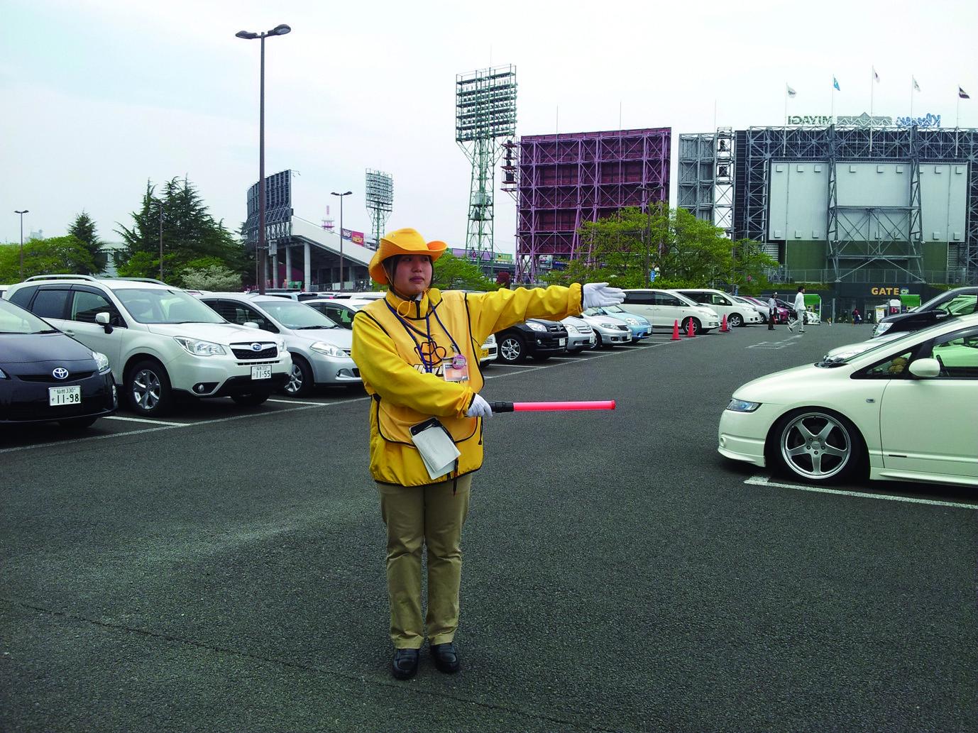 車両誘導スタッフ 花巻市エリア 東洋ワークセキュリティ株式会社 一関営業所のイメージ