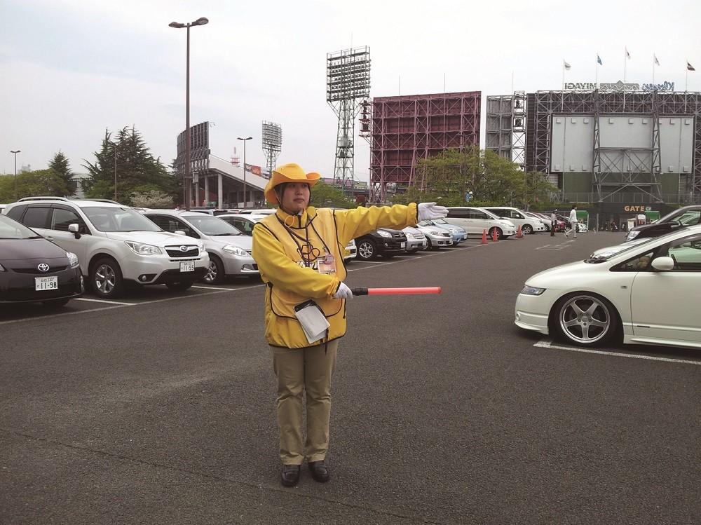 車両誘導スタッフ 花巻市 東洋ワークセキュリティ株式会社 盛岡営業所のイメージ